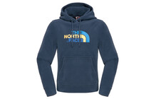 The North Face Men's 100 Drew Peak Pullover Hoodie cosmic blue